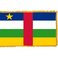 Central Africa Republic Flag Indoor Nylon