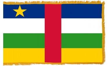 Central Africa Republic Flag Indoor Nylon