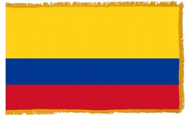 Colombia Flag Indoor Nylon