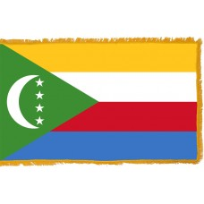 Comoros Flag Indoor Nylon