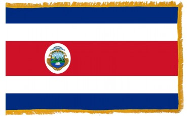 Costa Rica Flag Indoor Nylon
