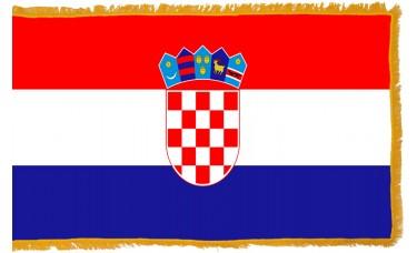 Croatia Flag Indoor Nylon