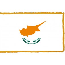 Cyprus Flag Indoor Nylon