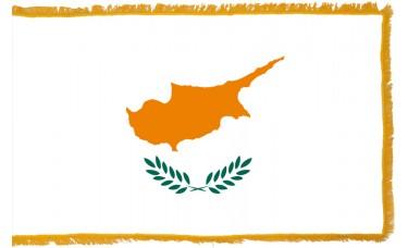 Cyprus Flag Indoor Nylon