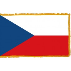 Czech Republic Flag Indoor Nylon