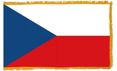 Czech Republic Flag Indoor Nylon
