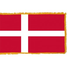Denmark Flag Indoor Nylon