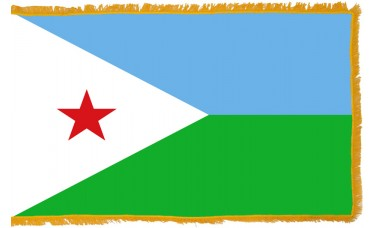 Djibouti Flag Indoor Nylon