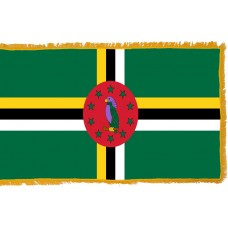 Dominica Flag Indoor Nylon