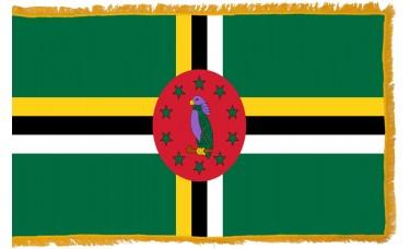 Dominica Flag Indoor Nylon