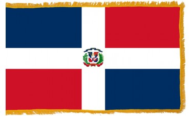 Dominican Republic Flag Indoor Nylon