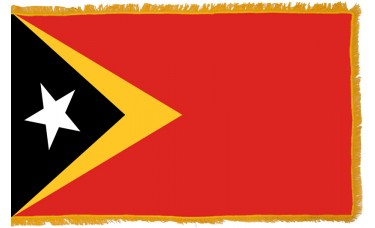 East Timor Flag Indoor Nylon