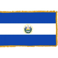El Salvador Flag Indoor Nylon