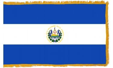 El Salvador Flag Indoor Nylon