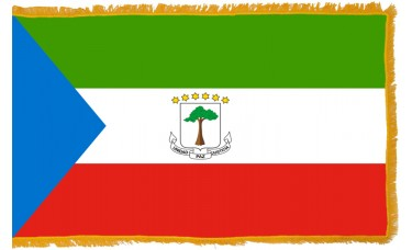 Equatorial Guinea Flag Indoor Nylon