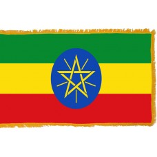 Ethiopia Flag Indoor Nylon