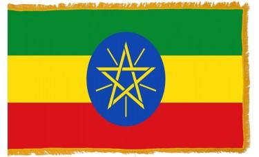 Ethiopia Flag Indoor Nylon