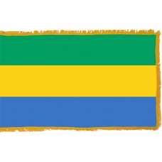 Gabon Flag Indoor Nylon