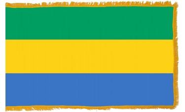 Gabon Flag Indoor Nylon