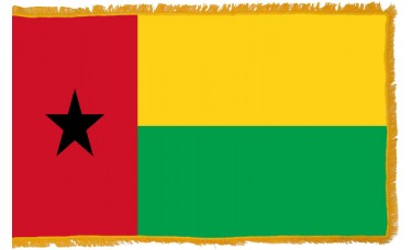 Guinea-Bissau Flag Indoor Nylon