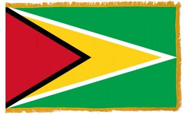 Guyana Flag Indoor Nylon