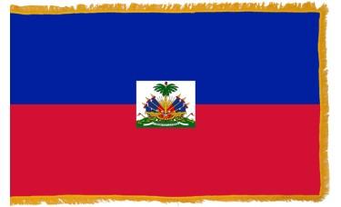 Haiti Flag Indoor Nylon