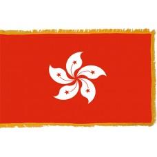 Hong Kong (Xianggang) Flag Indoor Nylon