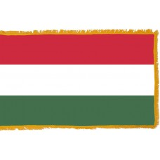 Hungary Flag Indoor Nylon