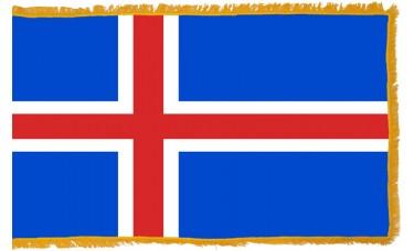 Iceland Flag Indoor Nylon