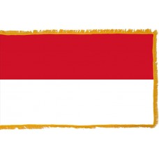 Indonesia Flag Indoor Nylon