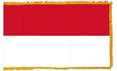 Indonesia Flag Indoor Nylon