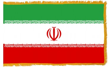 Iran Flag Indoor Nylon