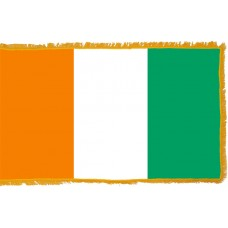 Ivory Coast Flag Indoor Nylon