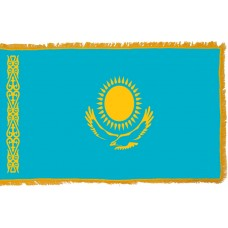 Kazakhstan Flag Indoor Nylon