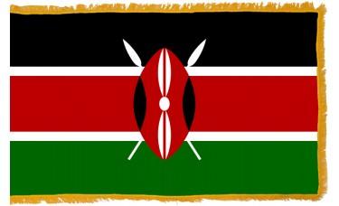 Kenya Flag Indoor Nylon