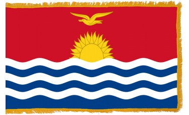 Kiribati Flag Indoor Nylon