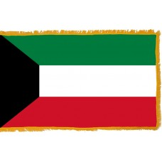 Kuwait Flag Indoor Nylon