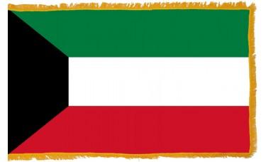 Kuwait Flag Indoor Nylon