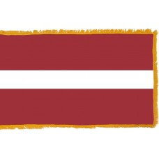 Latvia Flag Indoor Nylon