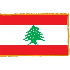 Lebanon Flag Indoor Nylon