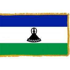 Lesotho Flag Indoor Nylon