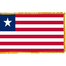 Liberia Flag Indoor Nylon