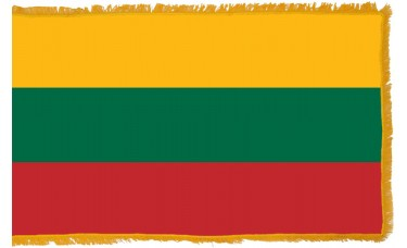 Lithuania Flag Indoor Nylon