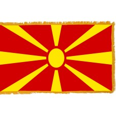 Macedonia Flag Indoor Nylon