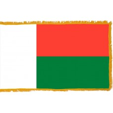 Madagascar Flag Indoor Nylon