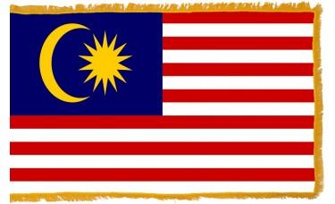 Malaysia Flag Indoor Nylon