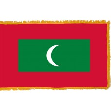 Maldives Flag Indoor Nylon