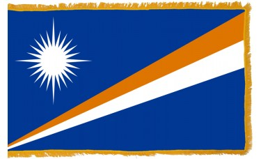 Marshall Islands Flag Indoor Nylon