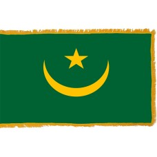 Mauritania Flag Indoor Nylon