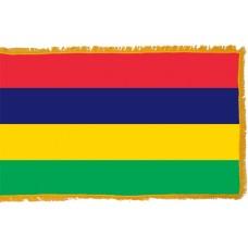 Mauritius Flag Indoor Nylon